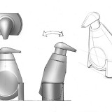 Sketches of soap dispenser