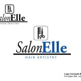 SalonElle Logo Concept