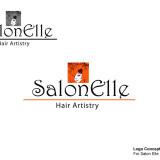 SalonElle Logo Concept #2