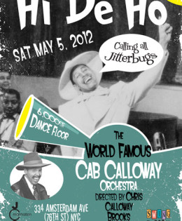 Cab Calloway Orchestra annoucement