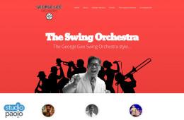 Big Band Website Concept