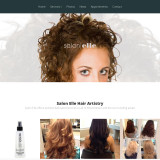 Salon Elle Website Design