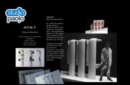 Phone Booth Design for AT&T