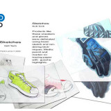 Glove and Sneaker concepts for Soft Tech