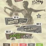 Swing Remix poster design