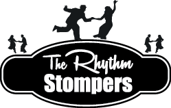 Rhythm Stompers Logo Concept OvalShip BLACKMINI
