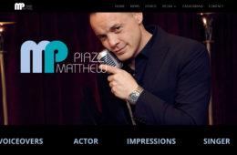 Actor Matthew Piazzi