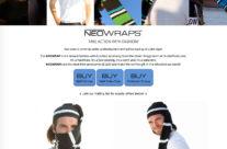 NeoWraps Website Design